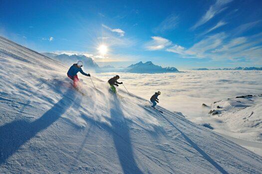 Hasliberg Skifahrer